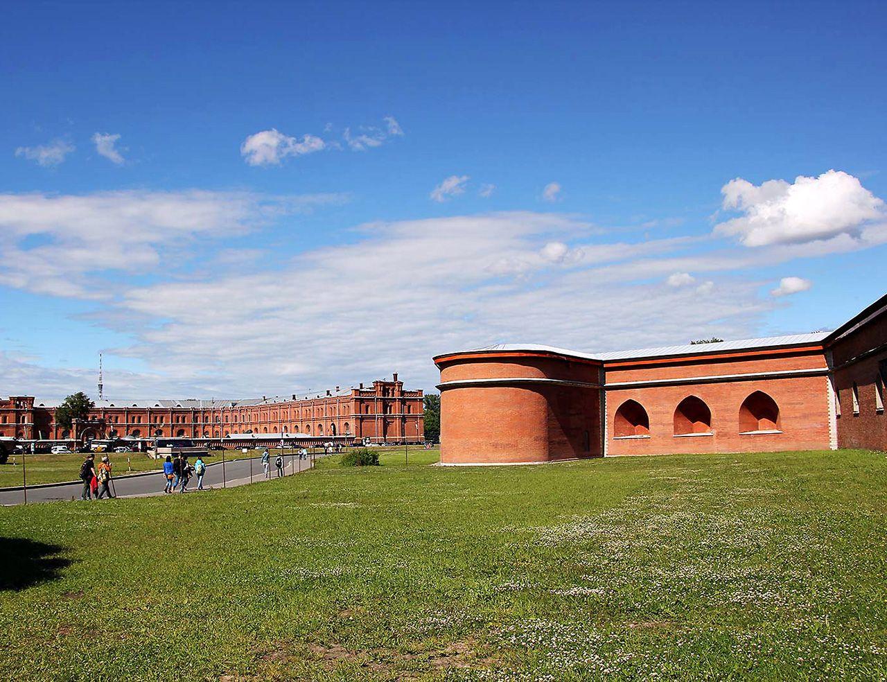 Peter-und-Paul-Festung in St. Petersburg. Bild: AZ/Architekturzeitung