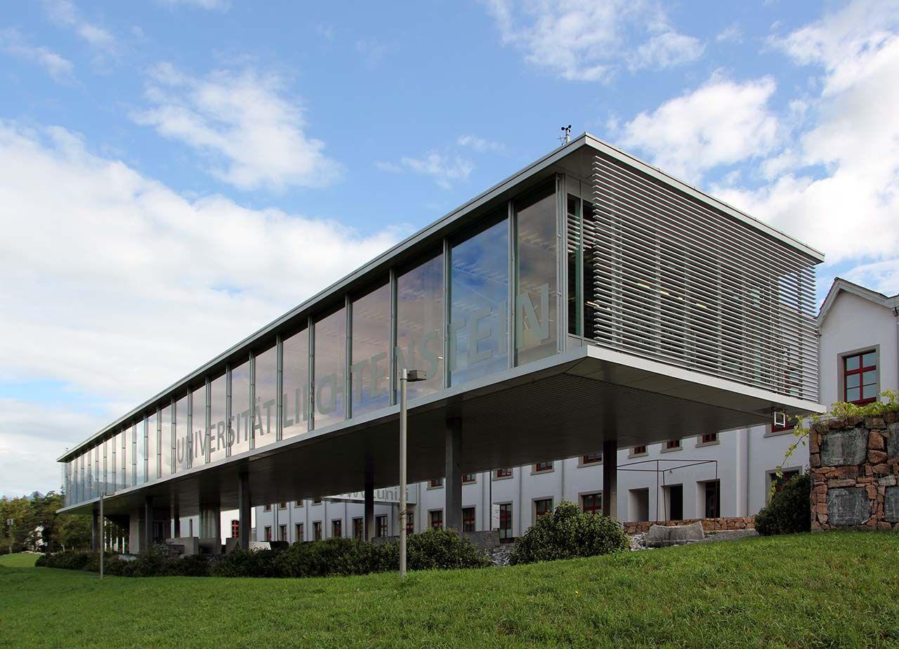 Universtätsbibliothek Liechtenstein, Architekten Karl + Probst . Foto: AZ/Architekturzeitung