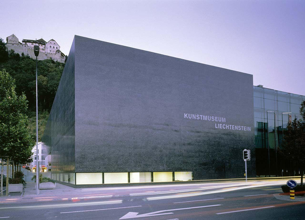 Kunstmuseum Vaduz, Liechtenstein. Foto: Ruedi Walti