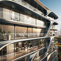 Mayfair Residential Tower in Melbourne von Zaha Hadid Architects