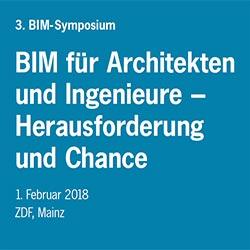 BIM-Symposium: Digitales Planen und Gestalten mit BIM