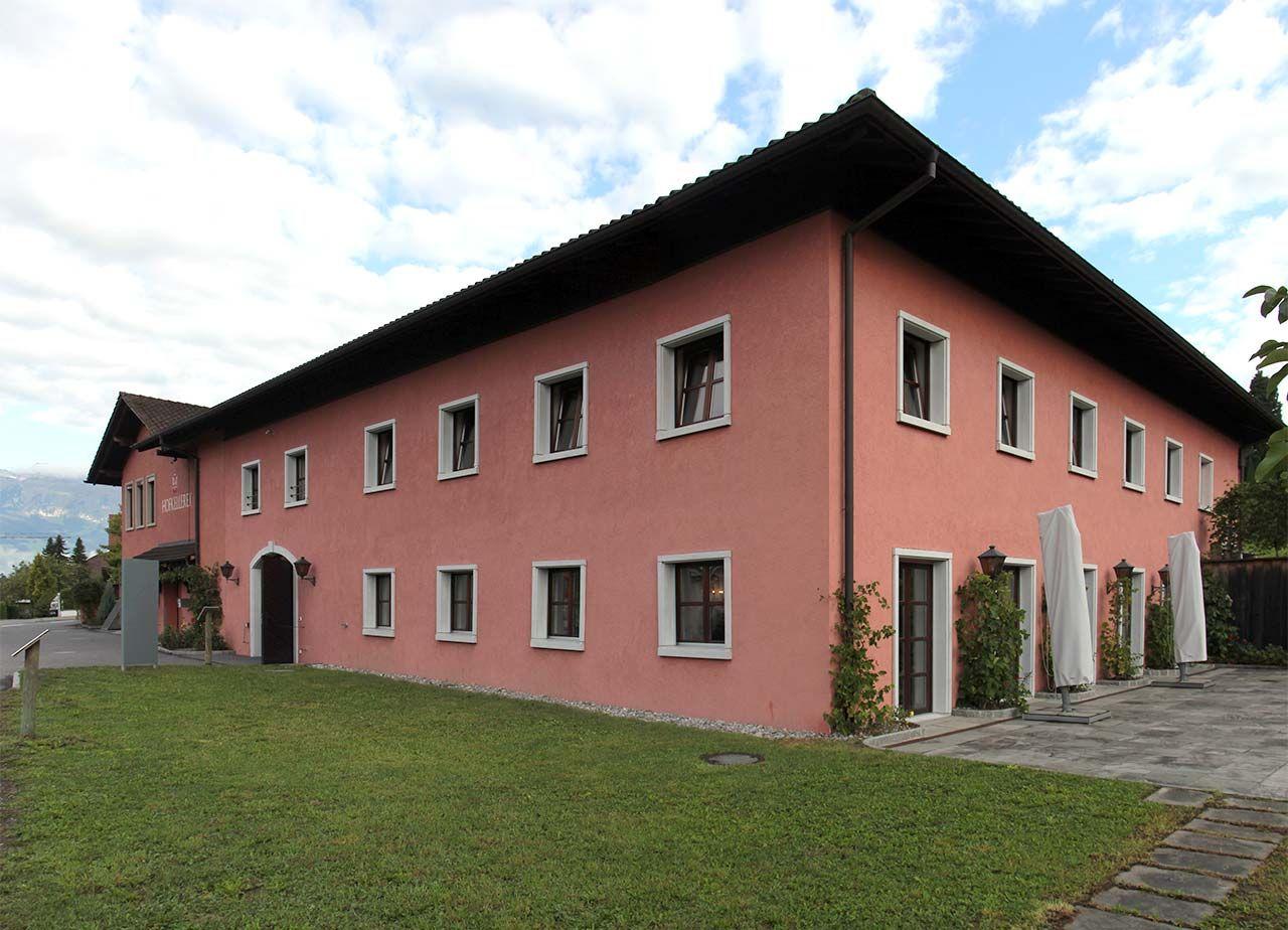 Fürstliche Hofkellerei Vaduz, Liechtenstein. Foto: AZ/Architekturzeitung