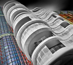 Architecture in Sydney, Australia.