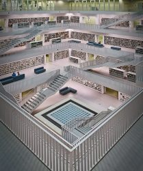 The Stadtbibliothek, Stuttgart's public library by architect Eun Young Yi